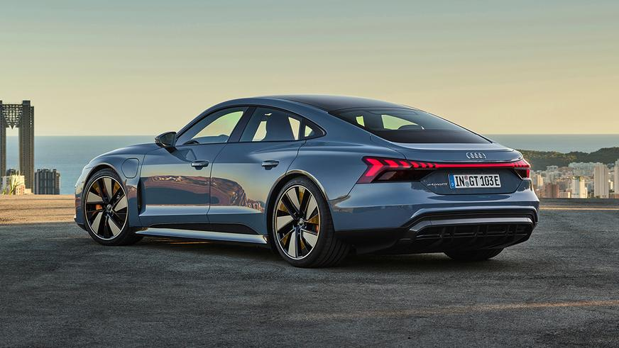 Audi e-tron GT стал серийным