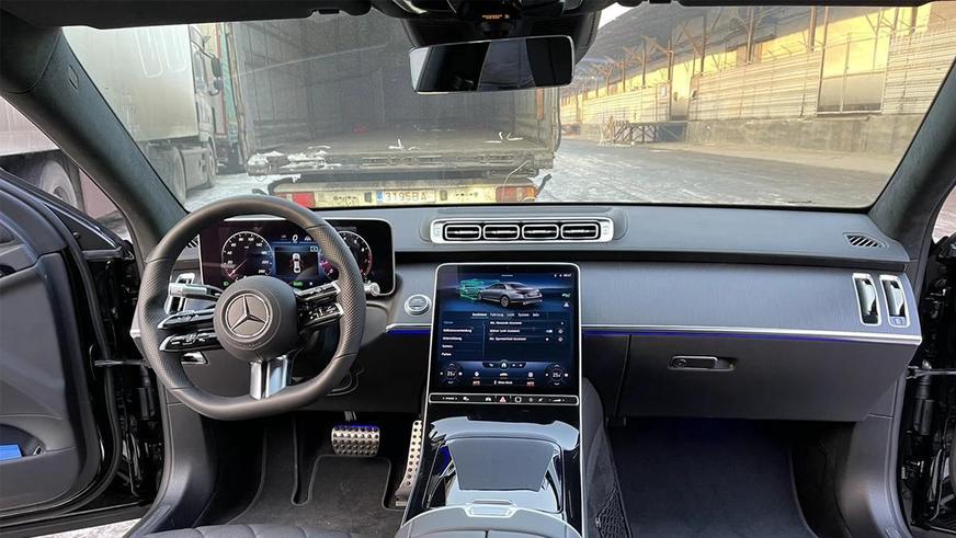 Mercedes-Benz S-Class W223 уже в Казахстане