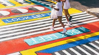 Пешеходные переходы: долой монохром!