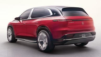 Mercedes-Maybach EQS – и «майбах», и типа вседорожник