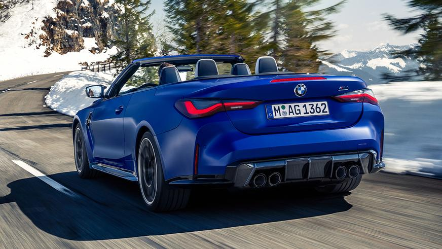 Представлен кабриолет BMW M4 Competition Convertible