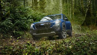 Subaru Forester Wilderness показался на фото