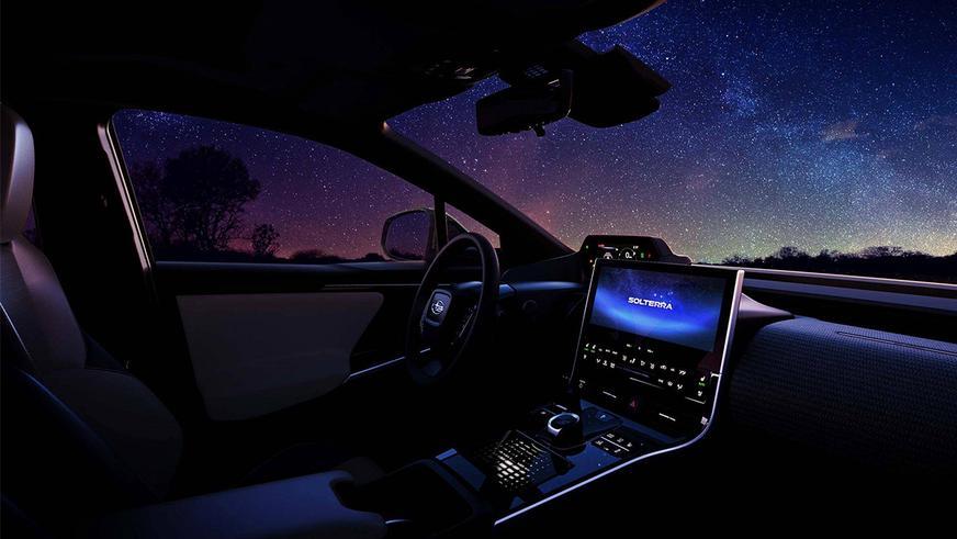 Subaru поделилась снимками электромобиля Solterra