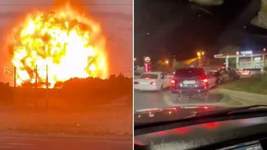 Взрывы близ Тараза: людей эвакуируют, дороги в регионе перекрыты