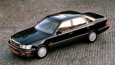 Lexus LS 400: первый блин оказался не комом