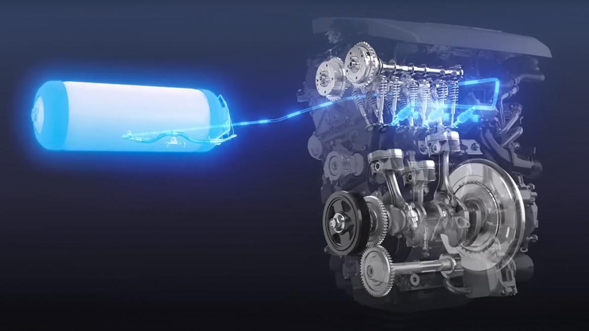 «Тойоты» поедут быстрее, если начнут жечь водород