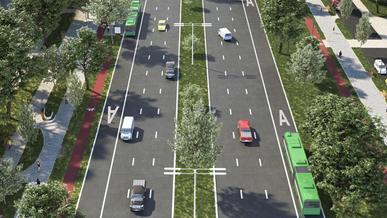 Ещё четыре выделенки для автобусов появятся в Алматы