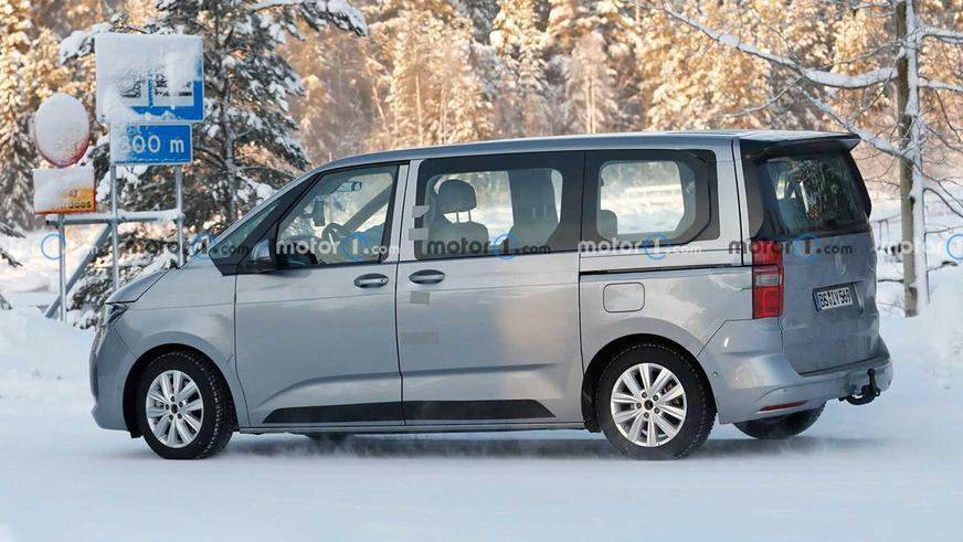 Volkswagen показал первый тизер семейства T7