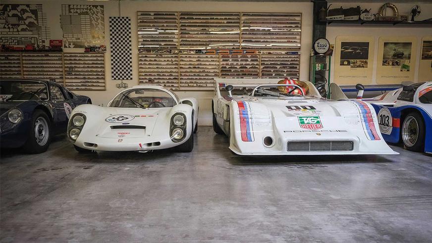 80-летний австриец купил себе 80-й автомобиль Porsche