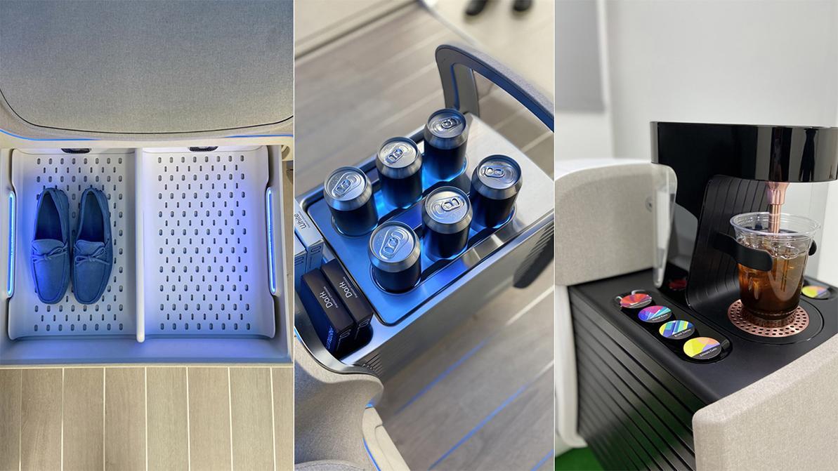Ioniq Concept Cabin: и согреет, и накормит, и в порядок приведёт