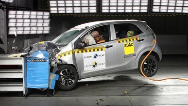 Kia Picanto провалил краш-тесты Latin NCAP