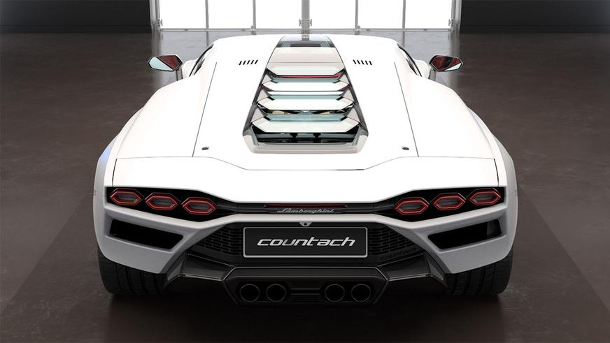 Lamborghini Countach вернулся?