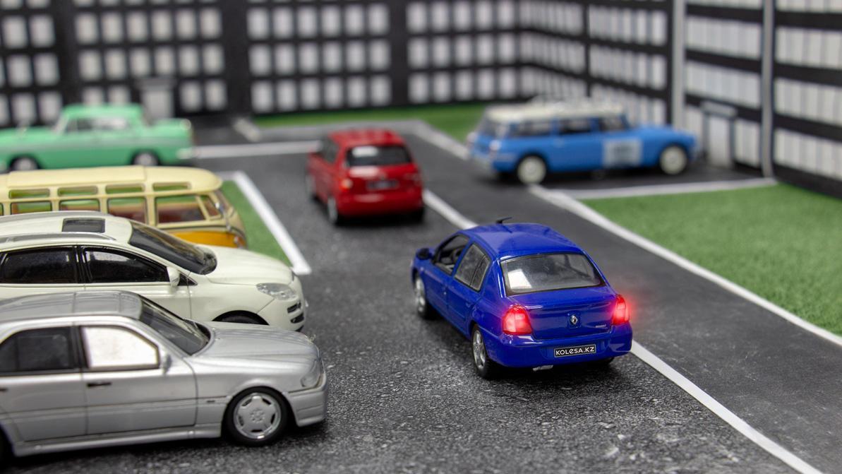 Школа «Колёс»: не бросайте авто где попало!