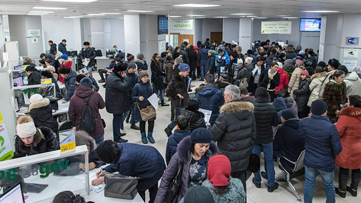 Сегодня, 18 января, в казахстанских спецЦОНах очереди