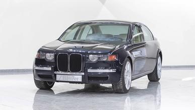 """«Семёрка» BMW могла получить огромные """"ноздри"""" ещё в 1990-х"""