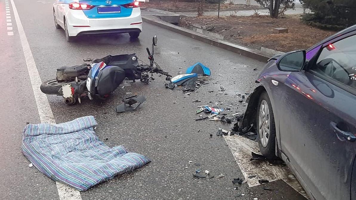 29 аварий с участием мопедов и электросамокатов произошло в Алматы