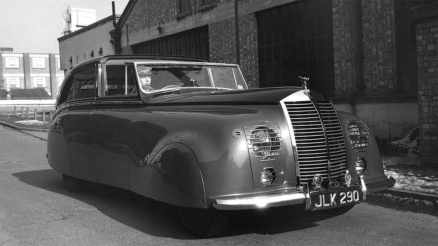 Rolls-Royce в стиле киберпанк