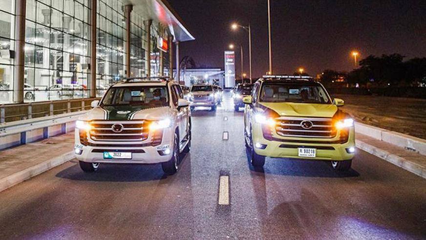 Toyota Land Cruiser 300 оделся в полицейскую форму