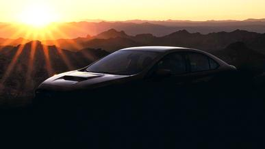 Subaru показала первый тизер WRX