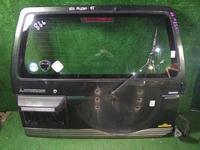 Дверь пятая Mitsubishi Pajero v24 белый, (№ 492к) за 25 000 тг. в Караганда