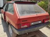 ВАЗ (Lada) 2108 (хэтчбек) 1989 года за 250 000 тг. в Тараз – фото 4
