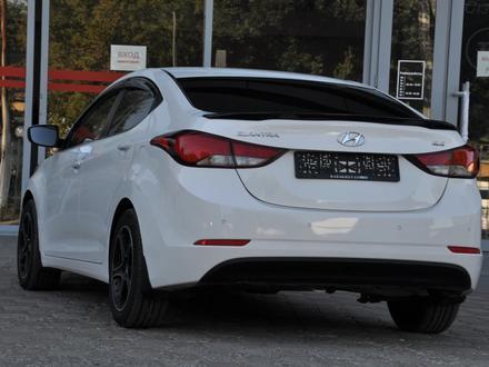 Hyundai Elantra 2014 года за 5 650 000 тг. в Шымкент – фото 3