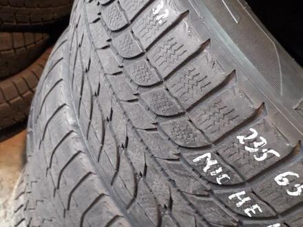 Резина 235/65 r17, Michelin, 2 колеса, из Японии за 20 000 тг. в Алматы – фото 2