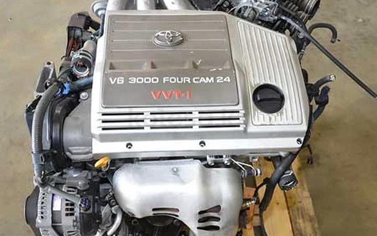Lexus RX300 двигатель 3.0 литра Гарантия на агрегат + МАСЛО… за 100 000 тг. в Алматы
