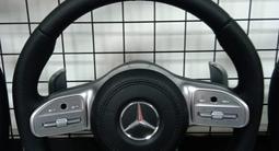 Руль в сборе Mercedes-Benz s63 w222 за 1 500 тг. в Алматы – фото 4