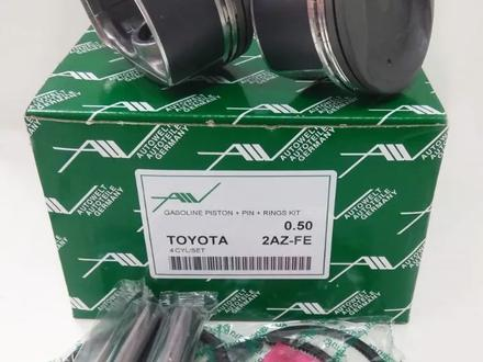 Поршни в сборе Toyota 2.4 2az-FE + 0.50 за 80 000 тг. в Нур-Султан (Астана)