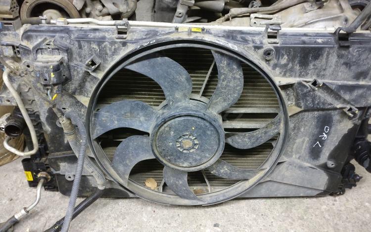 Радиатор охлаждения акпп диффузор с вентиляторами круз за 40 000 тг. в Нур-Султан (Астана)