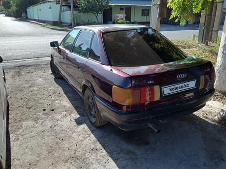 Audi 80 1992 года за 550 000 тг. в Шымкент – фото 4