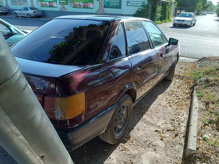 Audi 80 1992 года за 550 000 тг. в Шымкент – фото 5