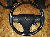 Руль (с airbag) рестайлинг (мультируль дерево) lexus es350 xv40 2009-2012 за 121 000 тг. в Алматы