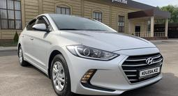 Hyundai Elantra 2018 года за 6 400 000 тг. в Алматы