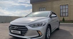 Hyundai Elantra 2018 года за 6 400 000 тг. в Алматы – фото 3
