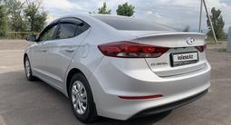 Hyundai Elantra 2018 года за 6 400 000 тг. в Алматы – фото 5