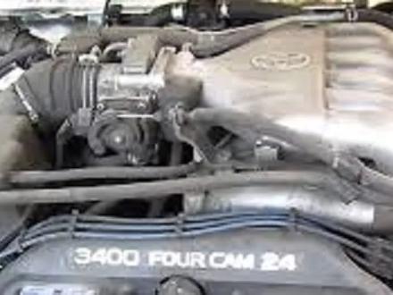 Двигатель и коробка Ленд Крузер Прадо 95 3.4 5VZ за 700 000 тг. в Алматы