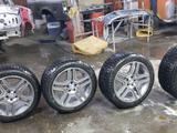 Шипованые шины с дисками AMG на мерседес мл 163 164 за 280 000 тг. в Алматы
