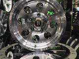 Комплект дисков от Rainbow Dance Allow Wheels в Астане за 155 000 тг. в Нур-Султан (Астана) – фото 3