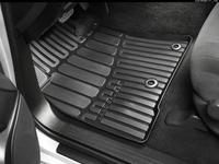 Коврики резиновые черные Toyota Land Cruiser 200 за 42 300 тг. в Актобе