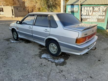ВАЗ (Lada) 2115 (седан) 2004 года за 600 000 тг. в Туркестан – фото 2
