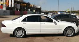 Mercedes-Benz S 55 2001 года за 4 200 000 тг. в Нур-Султан (Астана) – фото 3