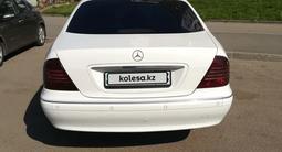 Mercedes-Benz S 55 2001 года за 4 200 000 тг. в Нур-Султан (Астана) – фото 4