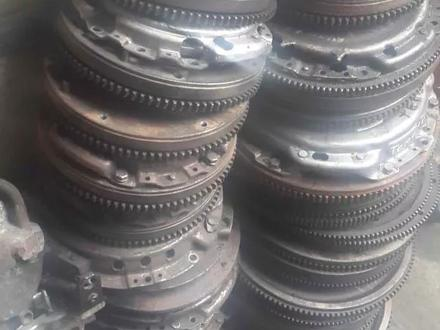 Матиз 2007 Маховик корзина сцепление всборе привозные контрактные за 15 000 тг. в Караганда