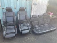 Кожаные сидения на х5 (полный салон) за 450 000 тг. в Алматы