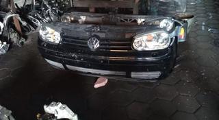 Передняя часть, морда, ноускат, перед, бампер Volkswagen golf4 за 130 000 тг. в Алматы