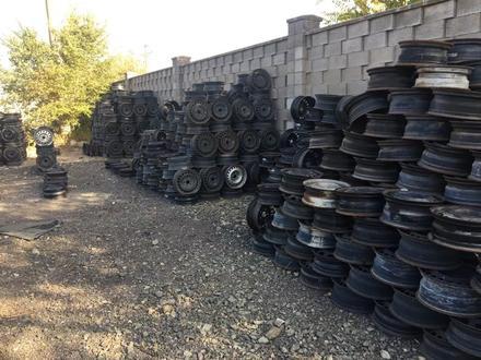 Диски железные на опель r14 за 4 000 тг. в Нур-Султан (Астана) – фото 2