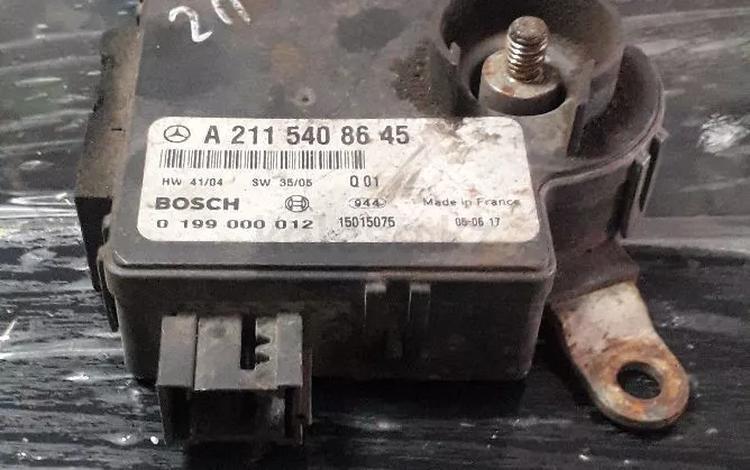 Блок управления аккумулятором мерседес е211 за 568 тг. в Караганда