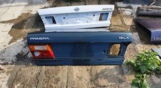 Крышка багажник Ниссан Примиера Р10 крыло, крыло задний, крыша, двери за 14 000 тг. в Актобе